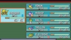 Screenshot for Pokémon Ruby / Sapphire - click to enlarge