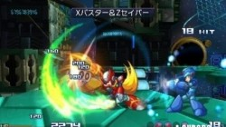 Screenshot for Project X Zone - click to enlarge