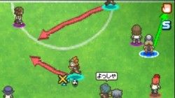 Screenshot for Inazuma Eleven 2: FireStorm / Blizzard - click to enlarge