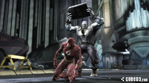 Screenshot for Injustice: Gods Among Us on Wii U - on Nintendo Wii U, 3DS games review