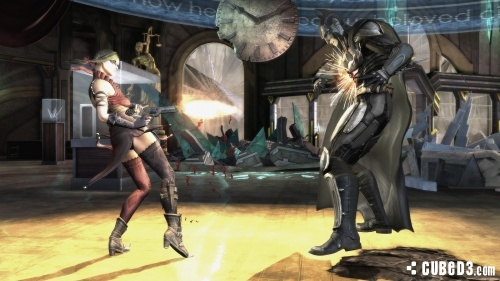 Screenshot for Injustice: Gods Among Us on Wii U- on Nintendo Wii U, 3DS games review
