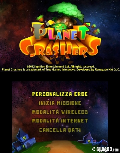 Screenshot for Planet Crashers on 3DS eShop- on Nintendo Wii U, 3DS games review