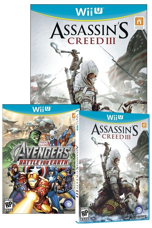 Image for Retailers Reveal Wii U Boxart Designs