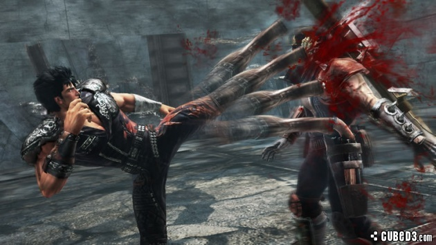 Screenshot for Fist of the North Star: Ken's Rage 2 on Wii U