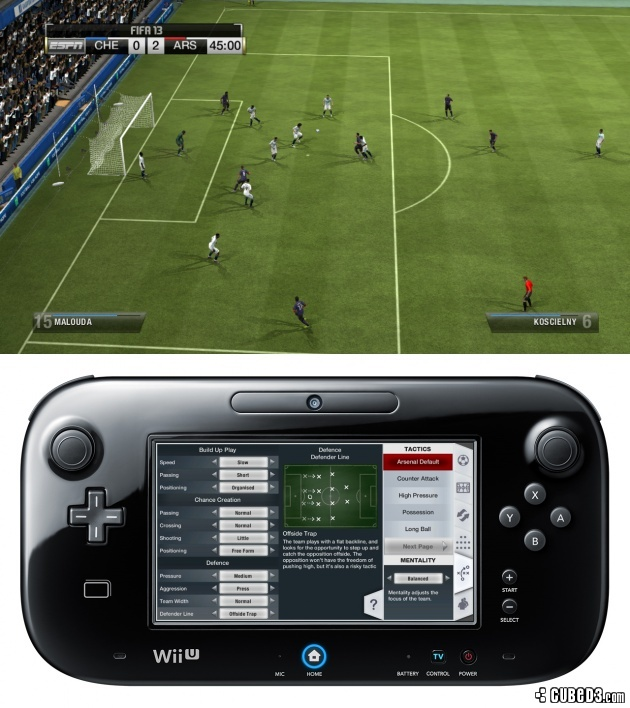 Screenshot for FIFA 13 on Wii U - on Nintendo Wii U, 3DS games review