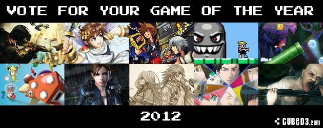 Image for Poll: Vote for your Game of the Year 2012