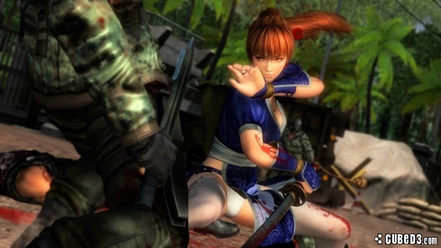 Image for Kasumi Dresses Up for Her Ninja Gaiden Debut