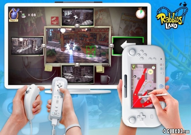 Screenshot for Rabbids Land on Wii U - on Nintendo Wii U, 3DS games review