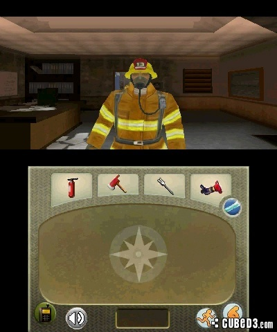 Screenshot for Real Heroes: Firefigher 3D on Nintendo 3DS- on Nintendo Wii U, 3DS games review