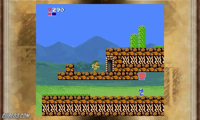 Screenshot for 3D Classics: Kid Icarus on Nintendo 3DS