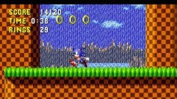 Screenshot for Sonic the Hedgehog - click to enlarge
