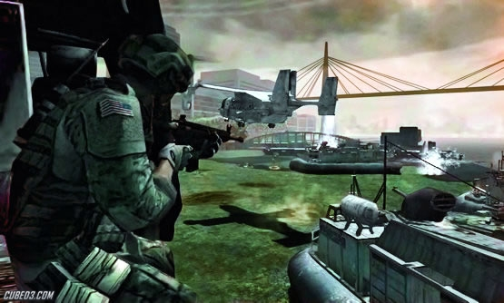 Screenshot for Call of Duty: Modern Warfare 3 on Wii - on Nintendo Wii U, 3DS games review