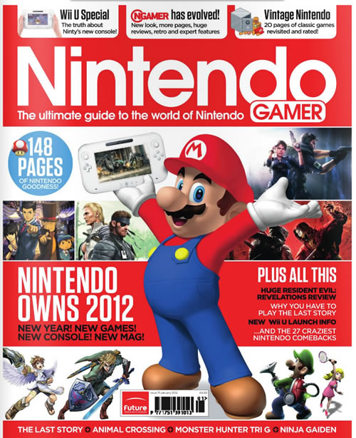Image for NGAMER Relaunched as Nintendo Gamer
