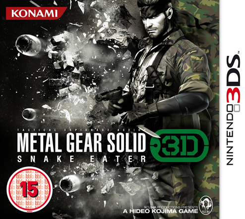 Image for Nintendo 3DS Metal Gear Breaks Cover