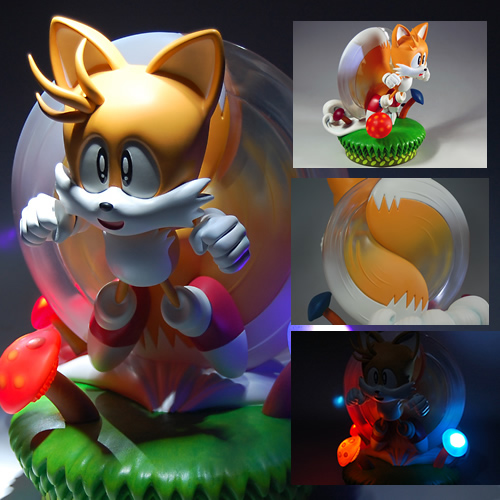Image for Tails Spins into New Statue Figure