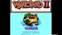 Screenshot for Wario Land II - click to enlarge