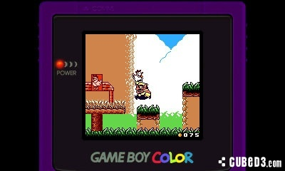Screenshot for Wario Land II on Game Boy Color