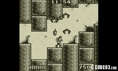 Screenshot for Castlevania: The Adventure on Game Boy - on Nintendo Wii U, 3DS games review