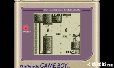 Screenshot for Castlevania: The Adventure on Game Boy- on Nintendo Wii U, 3DS games review