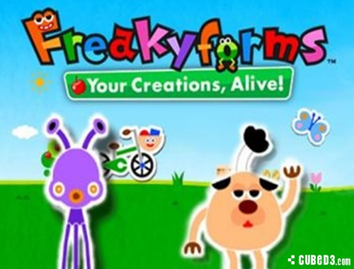Screenshot for Freakyforms Deluxe: Your Creations, Alive! on Nintendo 3DS