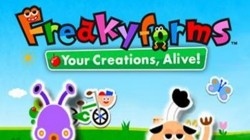 Screenshot for Freakyforms Deluxe: Your Creations, Alive! - click to enlarge