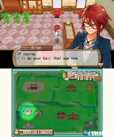 Screenshot for Harvest Moon 3D: A New Beginning on Nintendo 3DS - on Nintendo Wii U, 3DS games review