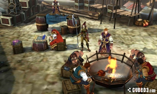 Screenshot for Heroes of Ruin on Nintendo 3DS - on Nintendo Wii U, 3DS games review