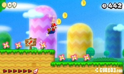 Screenshot for New Super Mario Bros. 2 on Nintendo 3DS