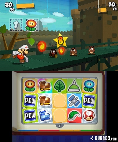 Screenshot for Paper Mario: Sticker Star on Nintendo 3DS - on Nintendo Wii U, 3DS games review
