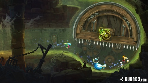 Screenshot for Rayman Legends on Wii U