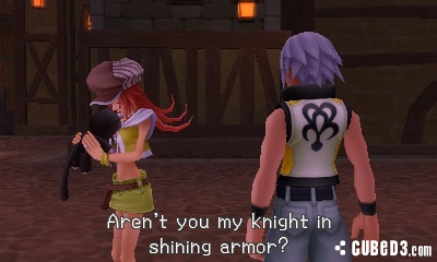 Screenshot for Kingdom Hearts 3D: Dream Drop Distance on Nintendo 3DS - on Nintendo Wii U, 3DS games review