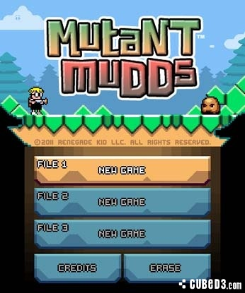 Screenshot for Mutant Mudds on 3DS eShop- on Nintendo Wii U, 3DS games review