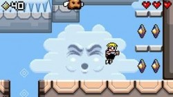 Screenshot for Mutant Mudds - click to enlarge