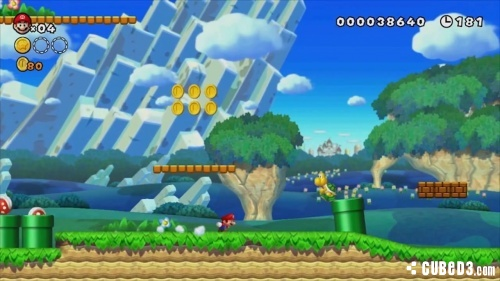 Image for E3 2012 Media | First Glimpse at New Super Mario Bros Wii U? Screens and Video
