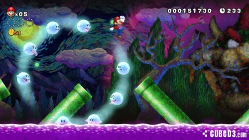 Screenshot for New Super Mario Bros. U on Wii U