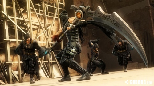 Screenshot for Ninja Gaiden 3: Razor's Edge on Wii U