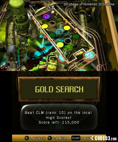 Screenshot for Zen Pinball 3D on 3DS eShop - on Nintendo Wii U, 3DS games review