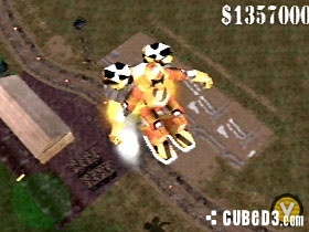Screenshot for Blast Corps on Nintendo 64 - on Nintendo Wii U, 3DS games review