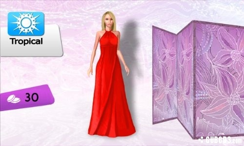 Screenshot for Imagine Fashion Designer 3D on Nintendo 3DS - on Nintendo Wii U, 3DS games review