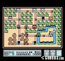 Screenshot for Super Mario Bros. 3 on NES - on Nintendo Wii U, 3DS games review