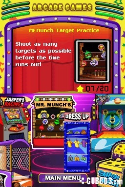 Screenshot for Chuck E. Cheese's Arcade Room on DSiWare - on Nintendo Wii U, 3DS games review