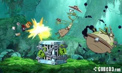 Screenshot for Rayman Origins on Nintendo 3DS