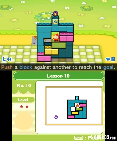 Screenshot for Fallblox on 3DS eShop - on Nintendo Wii U, 3DS games review
