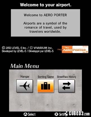 Screenshot for Aero Porter on 3DS eShop - on Nintendo Wii U, 3DS games review