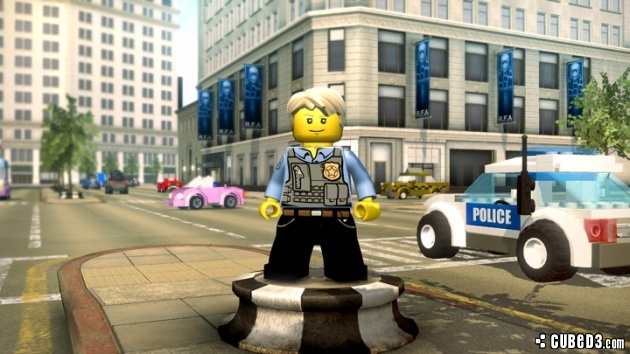 Screenshot for LEGO City Undercover on Wii U