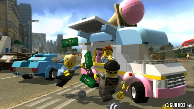 Screenshot for LEGO City Undercover on Wii U- on Nintendo Wii U, 3DS games review
