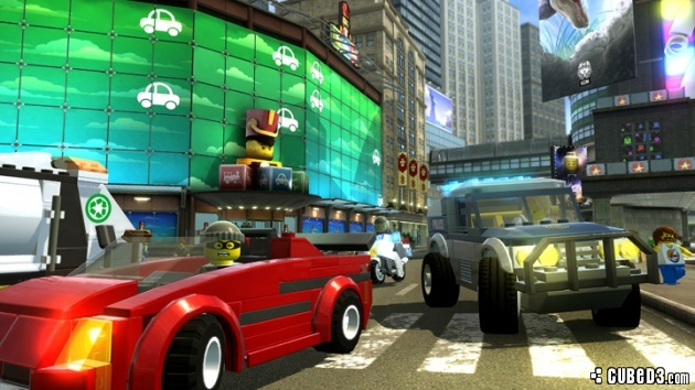 Screenshot for LEGO City Undercover on Wii U - on Nintendo Wii U, 3DS games review