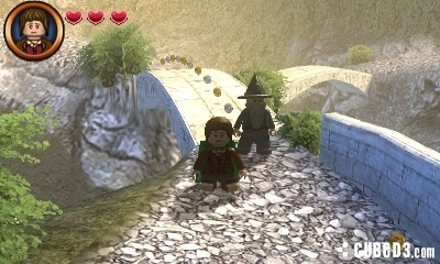 Screenshot for LEGO The Lord of the Rings (Nintendo 3DS) on Nintendo 3DS