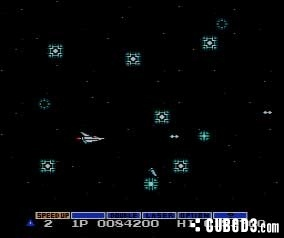 Screenshot for Gradius on NES - on Nintendo Wii U, 3DS games review