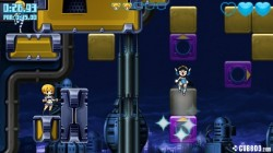 Screenshot for Mighty Switch Force! Hyper Drive Edition - click to enlarge
